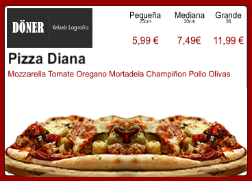 Pizza Diana