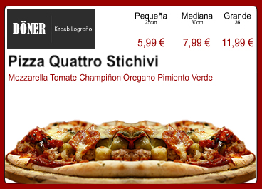 Pizza Quattro Stichivi