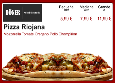 Pizza Riojana